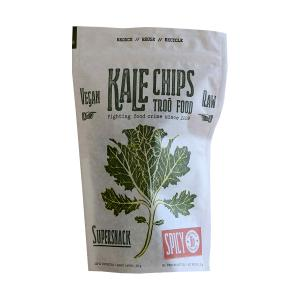 Kale Chips Spicy 35g | Organic Snack Lactose Free Vegan | Troofood