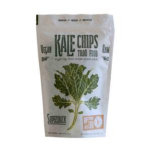 Kale Τσιπς με Μουστάρδα και Chia 35g | Βιολογικό Σνακ Χωρίς Λακτόζη Vegan | Troofood