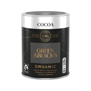 Organic Cocoa Powder 125g | Lactose Free No Added Sugar | Green and Blacks