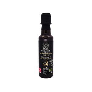 Balsamic Cream Glaze with Thyme Honey 200ml | Organic No Added Sugar | V4Vita
