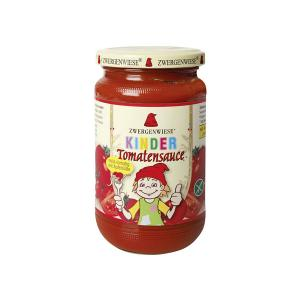Organic Tomato Sauce for Kids 350g | Ready to Use Vegan Gluten Free Lactose Free No Added Sugar | Zwergenwiese