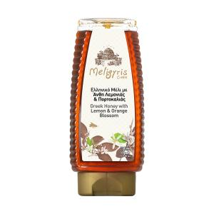 Greek Honey from Lemon and Orange Blossoms Squeeze 500g | Natural Unheated | Meligyris