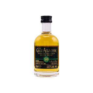 GlenAllachie 10 Year Old Cask Strength Miniature 50ml | Single Malt Scotch Whisky | GlenAllachie