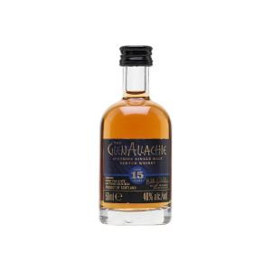 GlenAllachie 15 Year Old Miniature 50ml | Single Malt Scotch Whisky | GlenAllachie