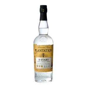 Plantation 3 Stars Rum 700ml | White Caribbean Rum | Plantation