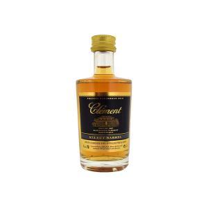 Clement Select Barrel Rum Miniature 50ml | French Caribbean Rum | Habitation Clement