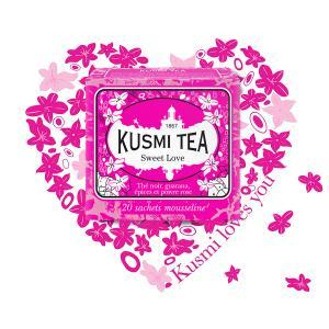 Τσάι Sweet Love 20 Φακελάκια | Μαύρο Τσάι με Μπαχαρικά | Kusmi Tea
