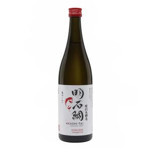 Akashi Tai Honjozo Tokubetsu Gohyakumangoku Sake 720ml | Japanese Sake | Akashi