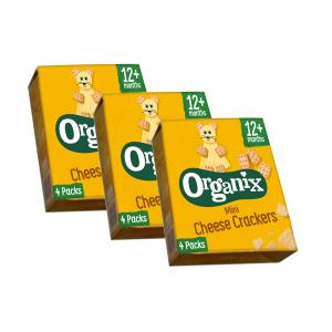 Goodies Cheese Crackers ( 3 boxes of 80g) | Organix