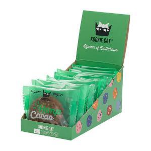 Kookie Cat   Cacao Hemp Cashew and Oat Cookie (12 pieces of 50g) - Organic Vegan Snack   Kookie Kat