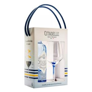 Citadelle Original Gin Gift Pack (Bottle 700ml and One Glass) | French Gin | Citadelle