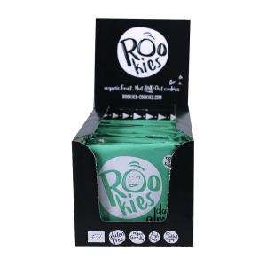 Rookies | Dates & Almonds (18 τεμάχια των 40g) - Organic Snack Gluten Free | Roobar