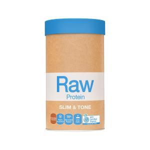 Ωμή Βιολογική Πρωτεΐνη Slim and Tone Γεύση Σοκολάτα 1kg   Χωρίς Γλουτένη Χωρίς Ζάχαρη   Amazonia