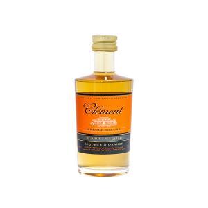 Clement Creole Shrubb Liqueur Miniature 50ml | French Caribbean Liqueur | Habitation Clement