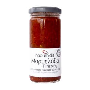 All Peppers Naoumidis Red Pepper Jam, Organic, 260g - Naoumidis