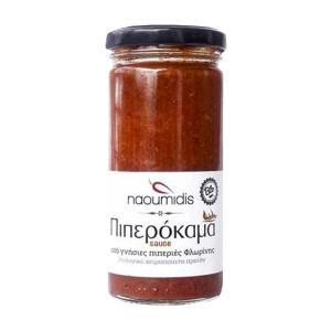 All Peppers Naoumidis Πιπερόκαμα Σάλτσα Καυτερής Πιπεριάς BIO 260g - Ναουμίδης