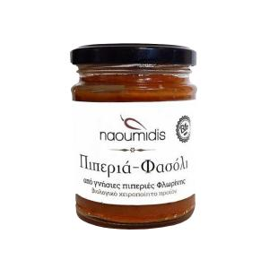 All Peppers Naoumidis Red Pepper & Bean Spread, Organic, 260g - Naoumidis