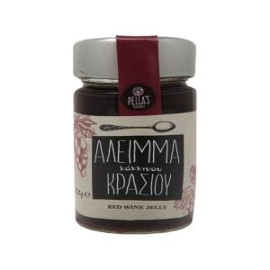 Άλειμμα Κόκκινου Κρασιού 235g- Pella's Delicacies