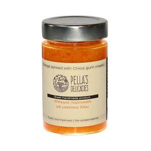 Άλειμμα Πορτοκάλι με Μαστίχα Χίου 230g - Pella's Delicacies