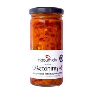 All Peppers Naoumidis Φιλετοπιπεριά Καβουρδιστή Λωρίδες BIO 260g - Ναουμίδης