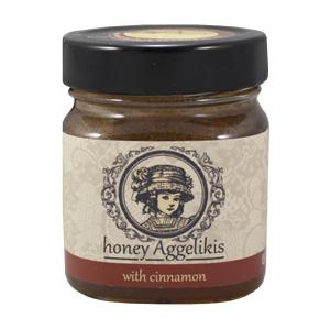 Άλειμμα Μελιού με κανέλα Κεϋλάνης 245g  - Μέλι Αγγελικής