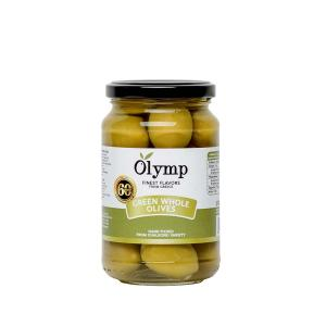 Green Whole Olives from Chalkidiki Variety 200g - Olymp