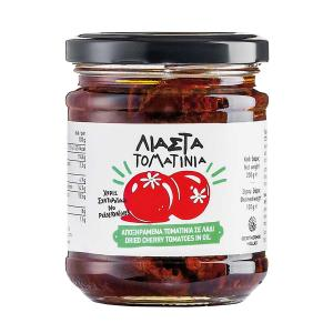 Sun-dried Cherry Tomatoes in Sunflower Oil 200g - Geothermiki Hellas