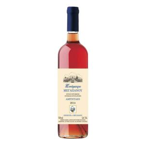 Xinomavro Rose Wine 750ml - Megapanos Winery