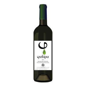 """Filyra White Wine 750ml -Agricultural Winemaking Co-op of N. Agchialos """"Dimitra"""""""