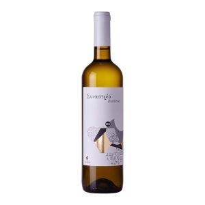 Συναστρία Λευκός | ΠΓΕ Πελοπόννησος Λευκός Ξηρός Chardonnay (2016) 750ml | Αμπελώνες Ζαχαριά