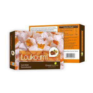 Loukoumi with Almonds 320g - Greek Horizons