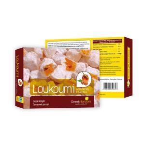 Loukoumi with Honey & Walnuts 320g - Greek Horizons
