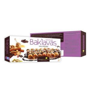 Μπακλαβάς Ξηρών Καρπών-Σοκολάτα 7τμχ. 240g - Greek Horizons