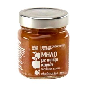 Apple Chutney with Kayenne Pepper 220g- Chef Stories