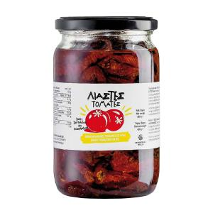 Sun-dried Tomatoes in Sunflower Oil 680g - Geothermiki Hellas