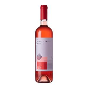 Agiorgitiko Zaharia Rose Wine, Organic, 750ml - Zaharias Vineyards