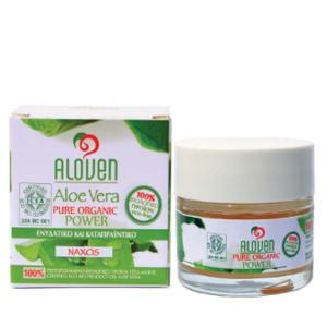 Aloven Aloe Vera Gel ECO-BIO 50ml - Aloe Vera Naxos