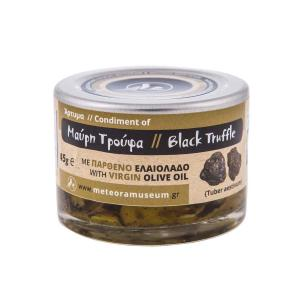 Black Truffle in Slices in Olive Oil 45g - Natural History Museum of Meteora