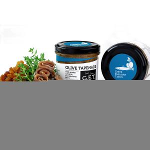 Umami Olive Tapenade with Golden Currants & Anchovy Fillets 105g - G.E.T.