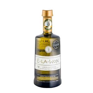 E-LA-WON Premium | Εξαιρετικό Παρθένο Ελαιόλαδο Κορωνέικη Αθηνολιά 500ml | Olive E-LA-WON