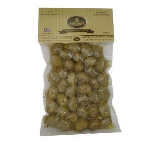 Ελιές Πράσινες σε Ελαιόλαδο BIO 250g - Atalanti Bio