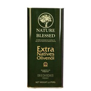 Nature Blessed Έξτρα Παρθένο Ελαιόλαδο 5lt Μεταλλικό Δοχείο - Nature Blessed