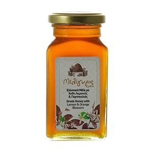 Greek Honey from Lemon and Orange Blossoms 450g | Natural Unheated | Meligyris