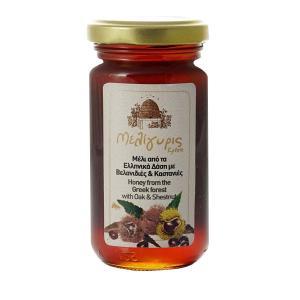 Μέλι  Βελανιδιάς  &  Καστανιάς 270g - Μελίγυρις