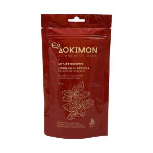 ΕυΔόκιμον Lemon Balm Herb Tea, Organic, 30g-Holy Monastery of Vatopaidi Mt.Athos