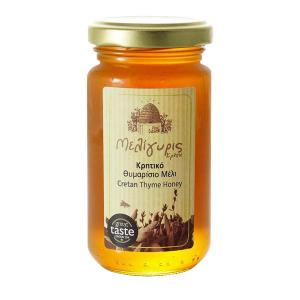 Cretan Honey from Wild Thyme 270g | Natural Greek Unheated | Meligyris
