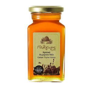 Cretan Honey from Wild Thyme 450g | Natural Greek Unheated | Meligyris