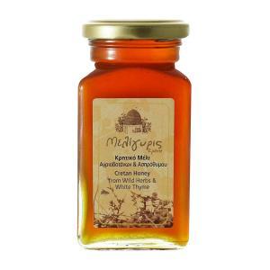 Κρητικό Μέλι Αγριοβοτάνων και Ασπρόθυμου | Φυσικό Ελληνικό Άθερμο 450g | Μελίγυρις
