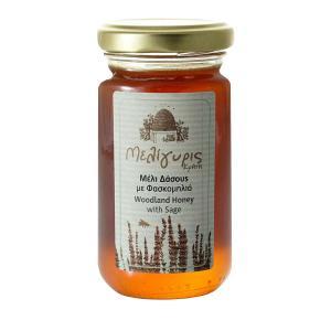 Κρητικό Μέλι Δάσους με Φασκομηλιά 270g - Μελίγυρις