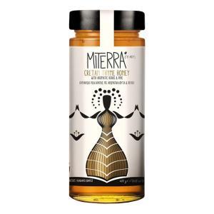 Miterra | Θυμαρίσιο Μέλι Με Αρωματικά Φυτά & Πεύκο 400g | Minoan Gaia